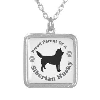 Sibirischer Husky Versilberte Kette