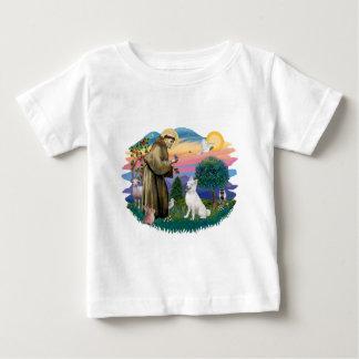 Sibirischer Husky (weiß) Baby T-shirt