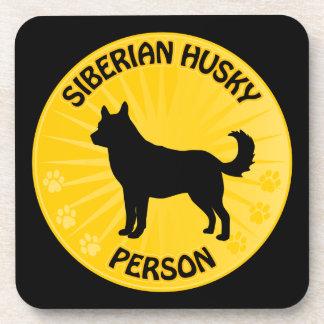 Sibirischer Husky Xing Untersetzer
