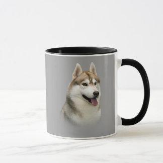 Sibirischer Schlittenhund-herrliche Tasse