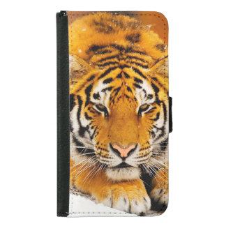 Sibirischer Tiger Geldbeutel Hülle Für Das Samsung Galaxy S5