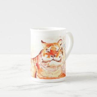 Sibirischer Tiger Porzellantasse