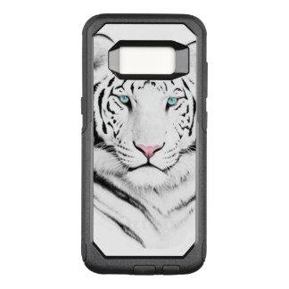 Sibirischer weißer Tiger OtterBox Commuter Samsung Galaxy S8 Hülle
