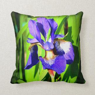 Sibirisches Iris-Wurfs-Kissen Kissen