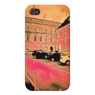 Sibiu-Malerei iPhone 4 Case