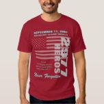 Sich erinnern an 9/11 - Doppeltes versah mit Shirts