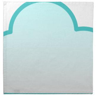 Sich hin- und herbewegende Wolke Serviette