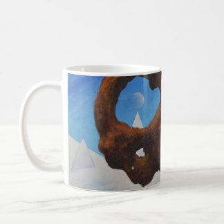 Sich hin- und herbewegender Felsen u. Eis - Kaffeetasse