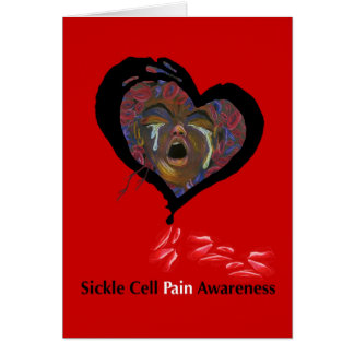 Sichel-Zellen-Schmerz-Bewusstsein Karte