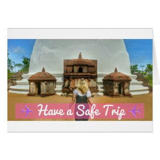 Sichere Reise-Reise-Karte - gute Reise Karte