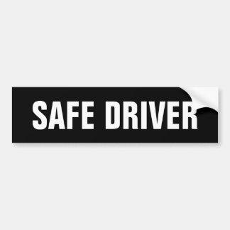 Sicherer Fahrer Autoaufkleber