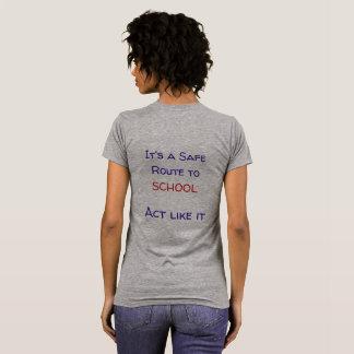 Sicherer Weg zum SchulT - Shirt