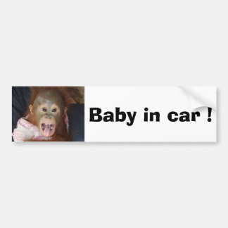 Sicheres Fahren Autoaufkleber