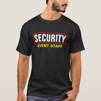 Sicherheit - Ereignis-Personal T-Shirt