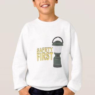 Sicherheit erste sweatshirt