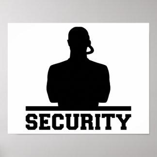 Sicherheit Poster