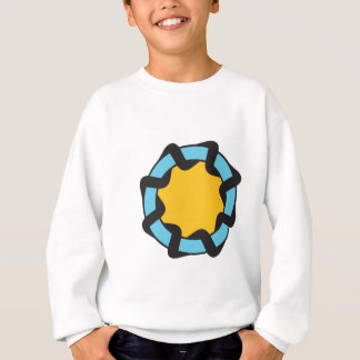 Sicherheit-Ring (weiß) Sweatshirt