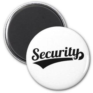 Sicherheit Runder Magnet 5,7 Cm