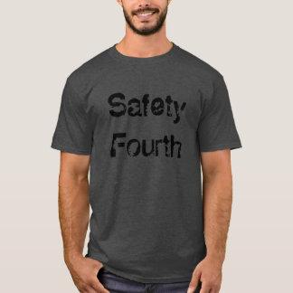 Sicherheit vierte T-Shirt