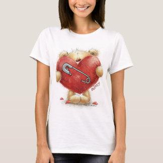 Sicherheits-Button - Bär - stärker zusammen T-Shirt