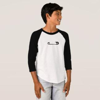 Sicherheits-Button-Baseball T T-Shirt