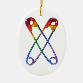 Sicherheits-Button Keramik Ornament