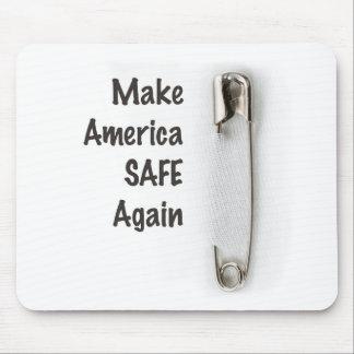 Sicherheits-Button Mauspad
