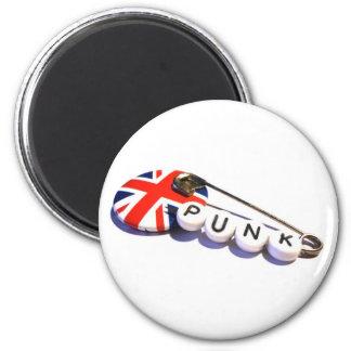 Sicherheits-Button-Punk Runder Magnet 5,7 Cm