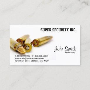 Sicherheits Leibwachter Kugeln Visitenkarte