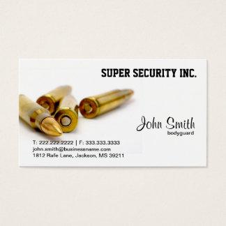 Sicherheits-Leibwächter-Kugeln Visitenkarte