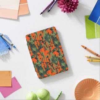 Sicherheits-orange und grüne Camouflage iPad Mini Cover