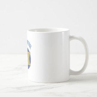 Sicherheits-Patrouille Kaffeetasse