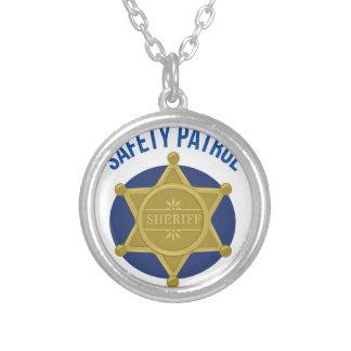 Sicherheits-Patrouille Versilberte Kette
