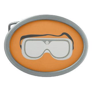 Sicherheits-Schutzbrillen Ovale Gürtelschnalle