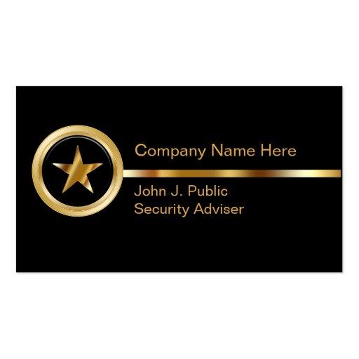 Sicherheits-Visitenkarten