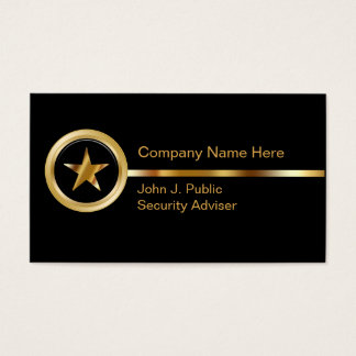 Sicherheits-Visitenkarten Visitenkarten