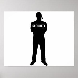 Sicherheitsbeamte Poster