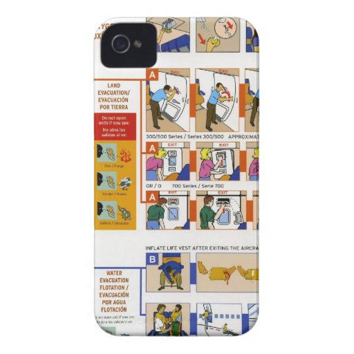 Sicherheitskarte iPhone 4 Cover