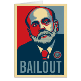 Sicherheitsleistungs-Karte Bens Bernanke