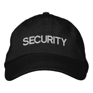 Sicherheitsteam-justierbare Kappe/Hut Besticktes Baseballcap