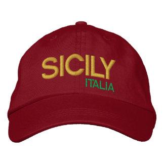 Sicily* Baseball-Mütze cappello DA-Baseball Bestickte Kappe