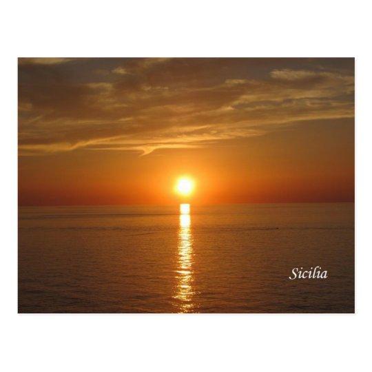 Sicily - Sizilien Postkarte