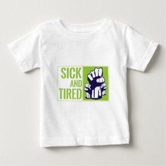 sickandtired_edit_file baby t-shirt
