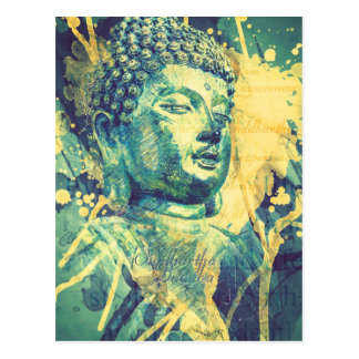 Siddhartha Buddha Postkarte