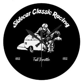 Sidecar Classic Racing Große Wanduhr