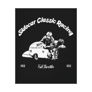 Sidecar Classic Racing Leinwanddruck