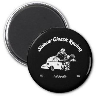 Sidecar Classic Racing Runder Magnet 5,7 Cm