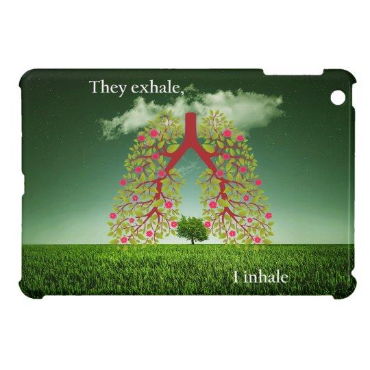 Sie atmen, ich inhalieren aus iPad mini cover