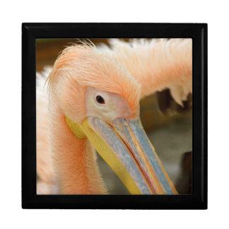 Sie aufpassen Pelikan-Geschenkboxen Schmuckschachtel