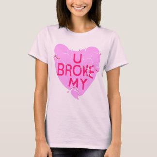 Sie brachen meine Herz-T - Shirts